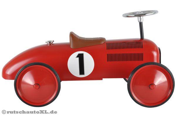 racing team metall rutschauto rot. Black Bedroom Furniture Sets. Home Design Ideas